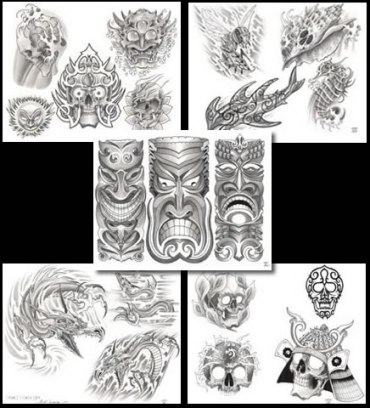 Tattoo Flash Set Bc01